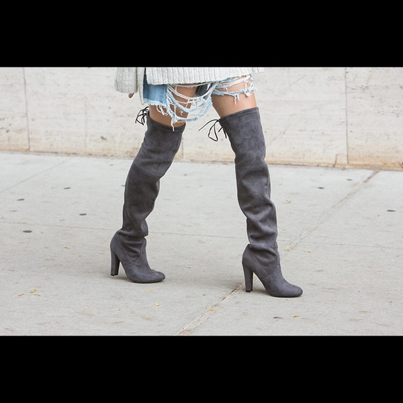 ffcb6e2b340 Steve Madden GORGEOUS boot in grey. M 5a99e34f36b9def77d8be146